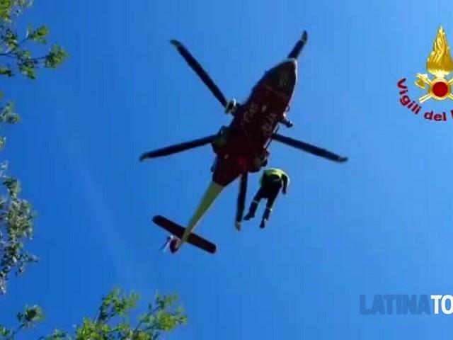 Cinque persone soccorse a Cori disperse nei boschi