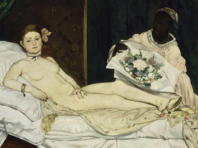 L'Olympia di Manet, la pietra dello scandalo nell'Europa dell'800