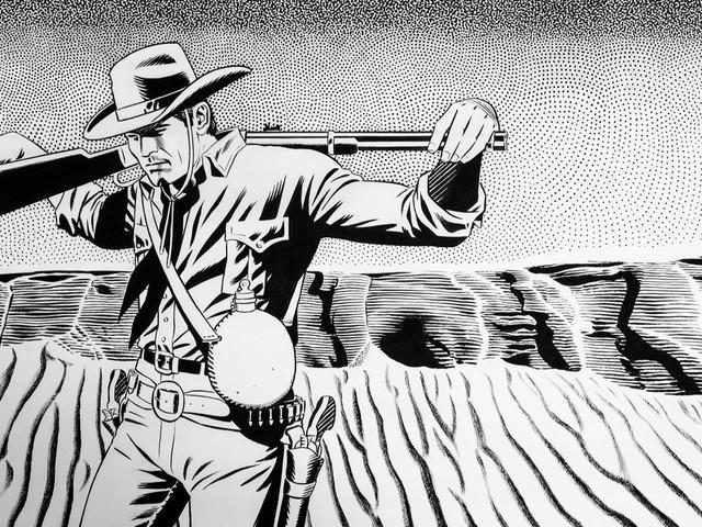 Tex Willer nei disegni di Fabio Civitella