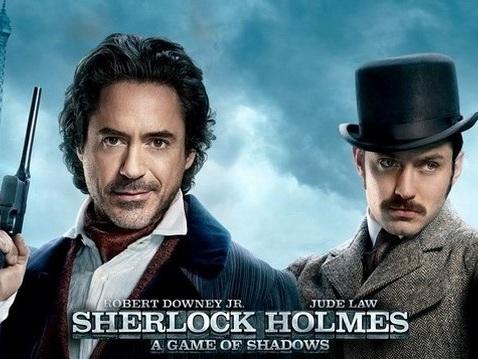 """Stasera in tv: """"Sherlock Holmes - Gioco di ombre"""" su Italia 1"""