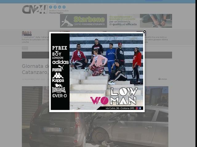 Giornata delle vittime della strada: celebrazioni a Catanzaro, la Stradale si rivolge ai giovani