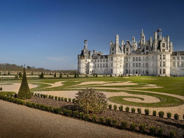 I giardini di Chambord (ri)diventano francesi