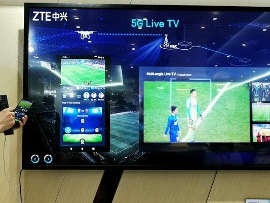 Il 5G cambierà il modo di guardare il calcio, anche allo stadio