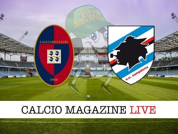 Cagliari-Sampdoria cronaca diretta, risultato in tempo reale