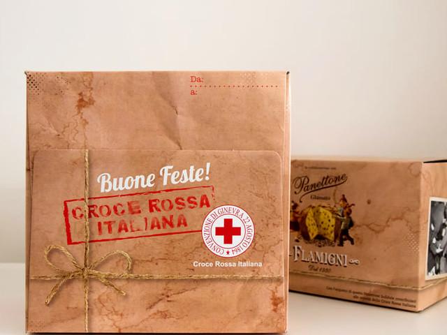 """Flamigni e Croce Rossa Italiana, insieme nella campagna natalizia """"Panettone Solidale"""""""