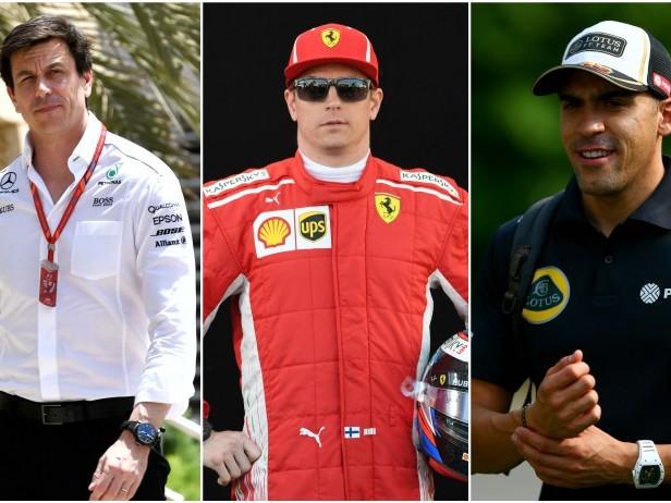 Da Raikkonen a Maldonado, che pesci d'aprile in F1