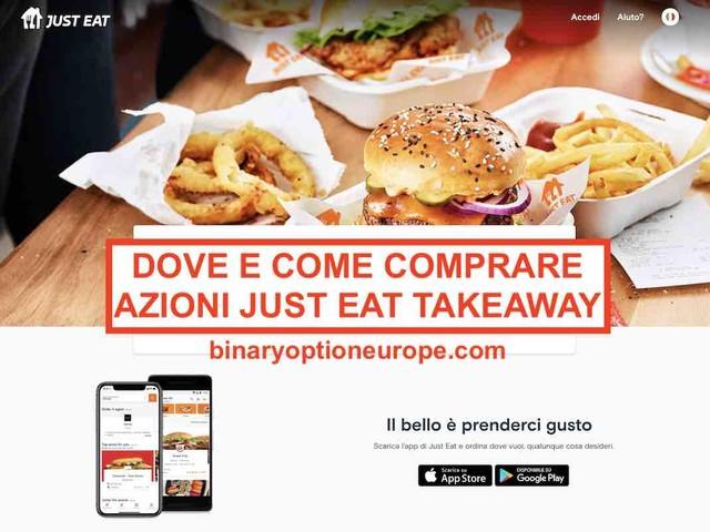 Dove e come comprare azioni Just EatTakeaway[2021] Previsioni TKWY