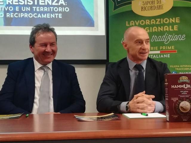 """Jury Chechi testimonial de 'La Pasta di Camerino'. """"Resilienza e resistenza trionfano nello sport e nell'imprenditoria"""" (FOTO E VIDEO)"""