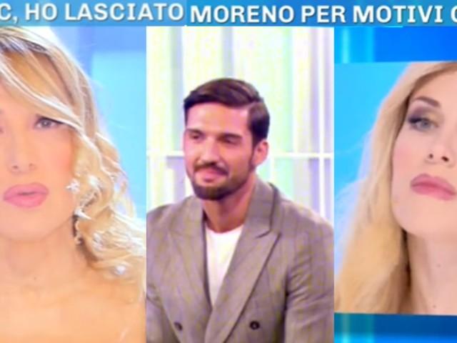 Paola Caruso si sente usata dall'ex Moreno Merlo