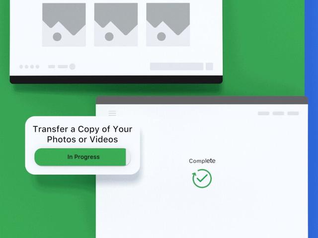 Facebook permette di esportare le immagini su Google Foto