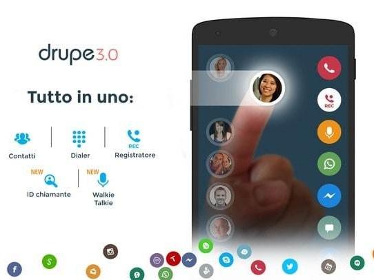 Come registrare le chiamate su Android con Drupe