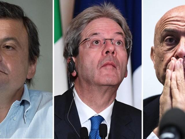 Tre ministri e un governo stabile: Minniti, Calenda, Gentiloni si proiettano sul 5 marzo. Renzi resta sul 4 marzo