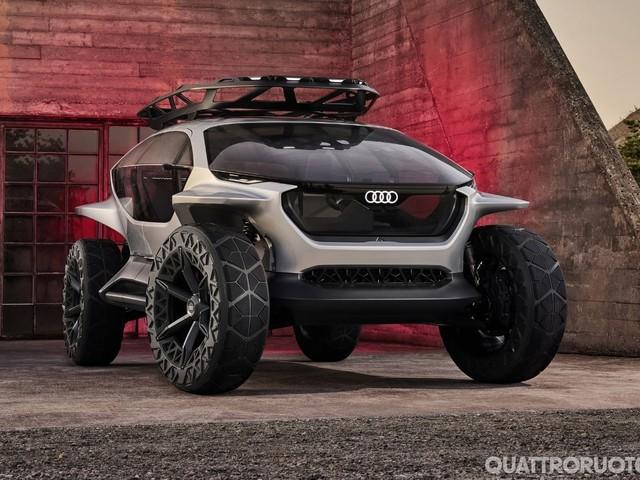 Audi Ai:Trail quattro - Elettrica e autonoma, anche in off-road