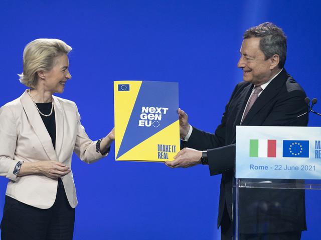 Nella fabbrica dei sogni il sì dell'Europa al PNRR italiano