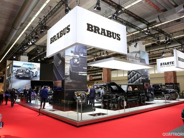 Brabus - La Classe G con il V12 e una Smart elettrica da 60.00 euro