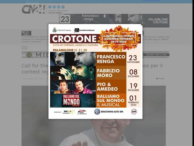 Call for the economy of Francesco: selezione di idee per il contest regionale