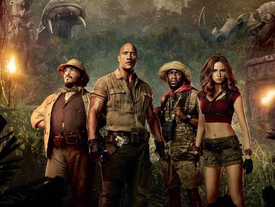 """""""Jumanji - Benvenuti nella giungla"""" in arrivo su Ultra HD Blu-ray con Dolby Vision"""