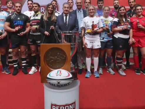 Rugby, Peroni Top 12, lanciata la 90ima stagione con l'IM Exchange Viadana 1970