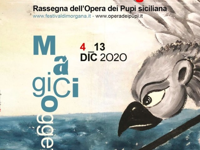 Teatro: pupi e magia, in streaming, al festival di Morgana