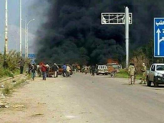 Siria: attacco a bus esercito, numerosi morti