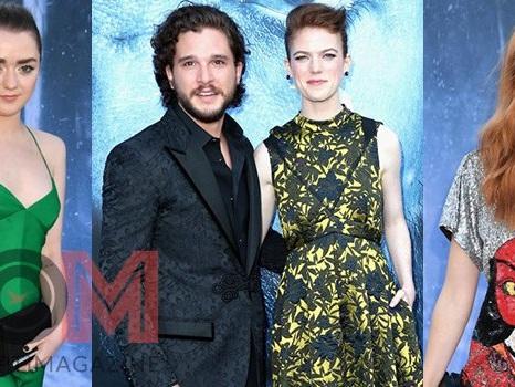 A Los Angeles per la prima de Il Trono di Spade 7 il cast è elegante sull'Ice Blue Carpet (foto)