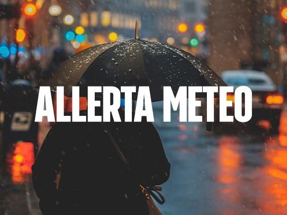 Maltempo con temporali, allerta meteo rossa venerdì per rischio idrogeologico in Sardegna