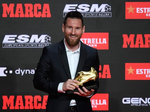 """Messi vince la scarpa d'oro: """"Io parlo sul campo. L'Inter? Ci ha fatto soffrire"""""""