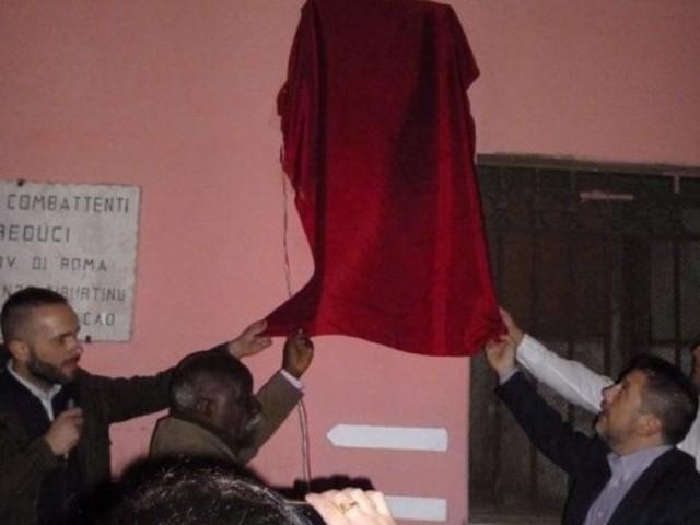 Roma, a San Lorenzo una targa per il 'Che'