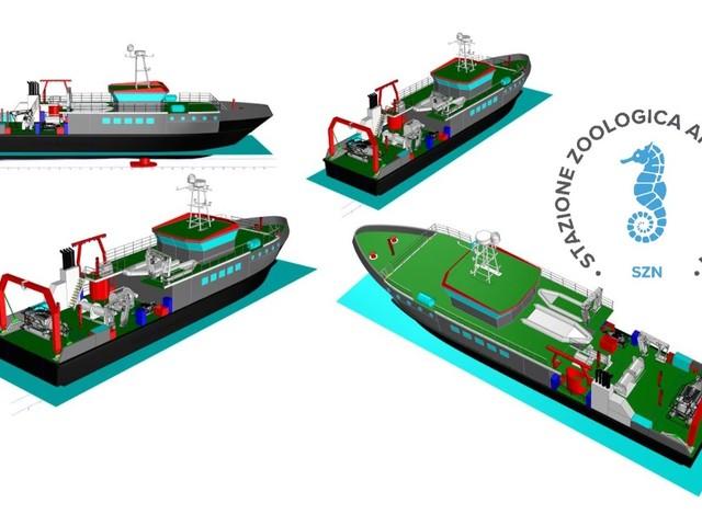 Ecco la Dohrn, la nuova nave oceanografica della Stazione Zoologica di Napoli