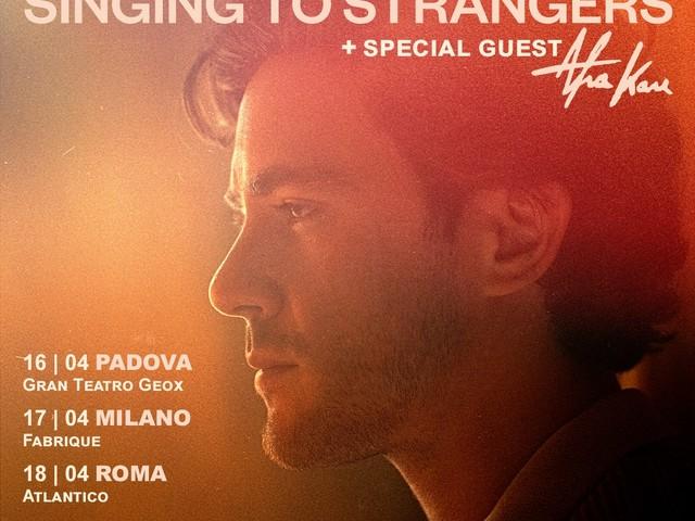 Jack Savoretti: sul palco ad aprile insieme ad Afra Kane INFO BIGLIETTI