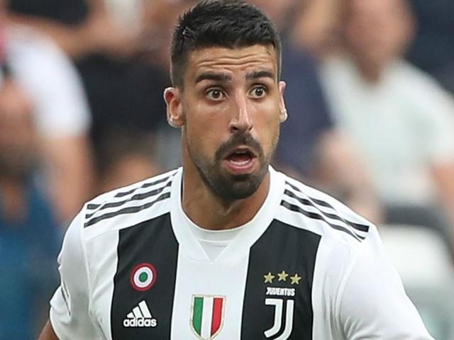 Juventus, Khedira operato al ginocchio: rientro previsto fra tre mesi