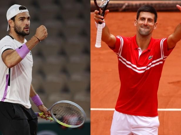 Berrettini-Djokovic al Roland Garros: dove vedere il match dei quarti in tv