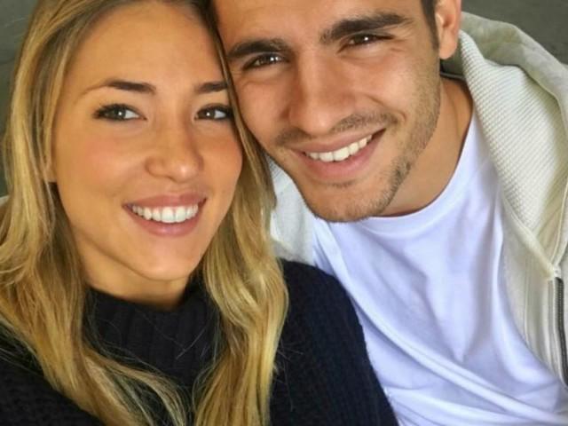Alice Campello e Alvaro Morata genitori per la terza volta