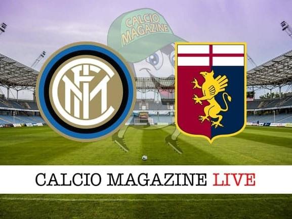 Inter – Genoa: cronaca diretta live, risultato in tempo reale