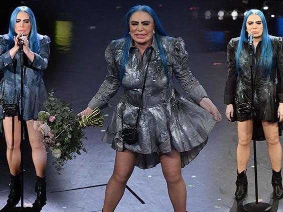 Loredana Bertè: la vincitrice morale di Sanremo 2019 al Festivali indossa sempre lo stesso vestito