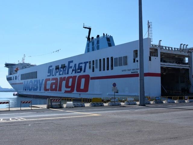 Moby presenta la nuova nave 'SuperFast Baleares'