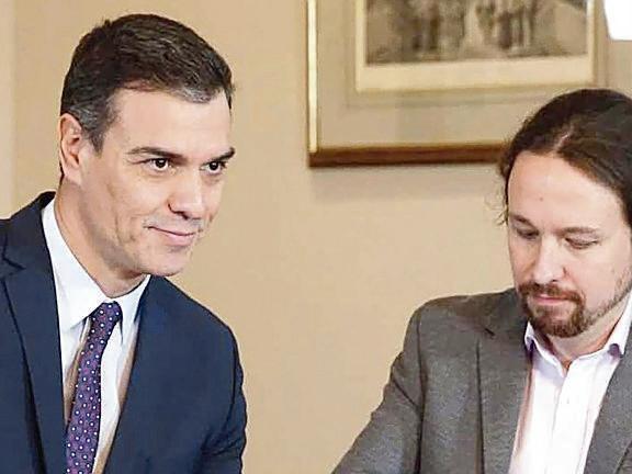Svolta in Spagna: Sanchez-Iglesias insieme al governo
