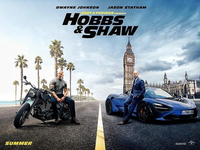 Fast and Furious – Hobbs & Shaw record di incassi: quattro settimane di fila al primo posto delle classifiche mondiali al box office