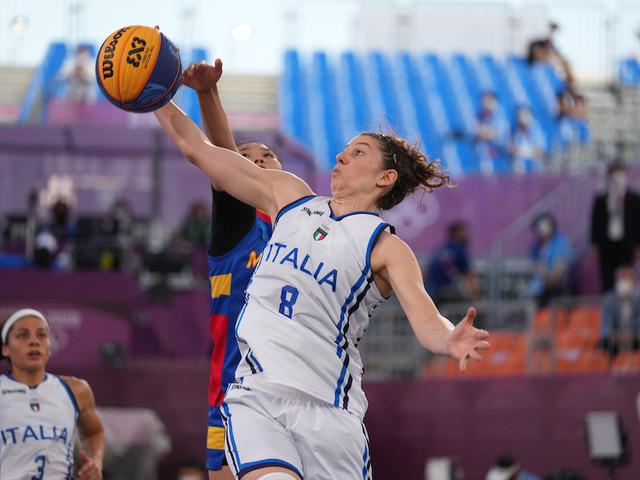 LIVE Italia-Usa, Olimpiadi Basket 3×3 in DIRETTA: sfida alle maestre statunitensi!