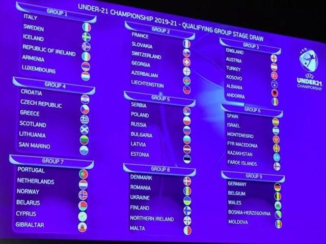 Qualificazioni Europeo Under 21, l'Italia trova la Svezia e l'Islanda