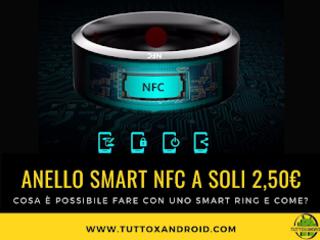 Smart Ring: cos'è un anello NFC a cosa serve e come funziona?