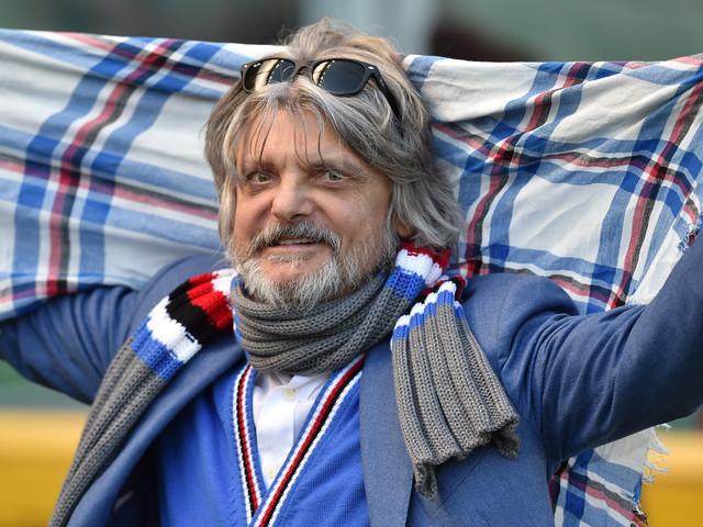"""Sampdoria, Ferrero: """"Società sana e seria. Credo nella magistratura. E quel gol di Saponara…"""""""