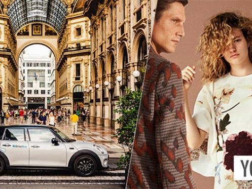 BMW DriveNow offre 10€ di buono YOOX per gli acquisti natalizi