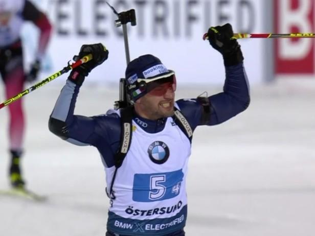 Biathlon, Italia terza nella staffetta di Coppa del Mondo a Ostersund