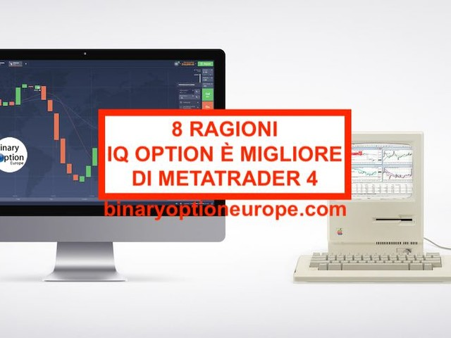 8 ragioni per cui IQ Option piattaforma batte MetaTrader (MT4)