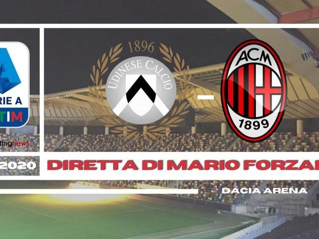 (Diretta) Udinese - Milan rossoneri con Donnarumma per restare 'la capolista'