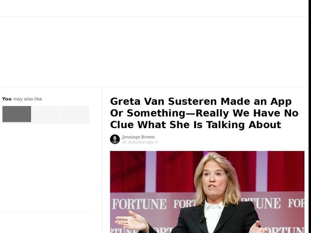 Greta Van Susteren Made an App Or Something—Really We Have No Clue What She Is Talking About