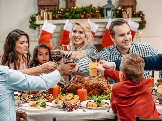 Prevenire e curare i disturbi gastrointestinali a Natale