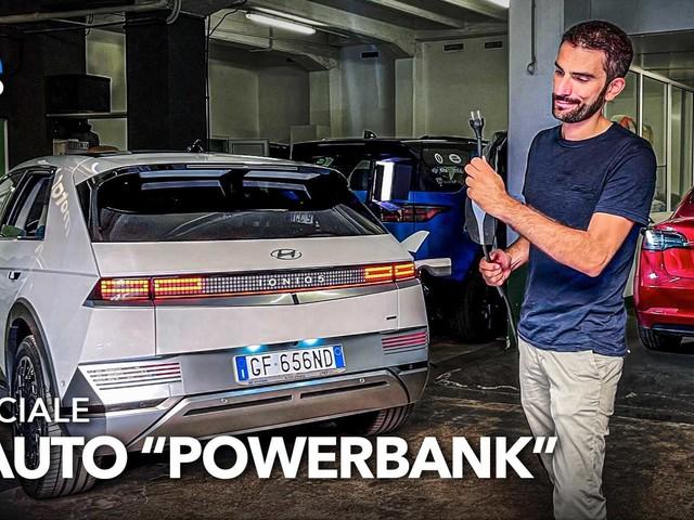 Cosa può fare un'enorme batteria su ruote con il V2L: il video