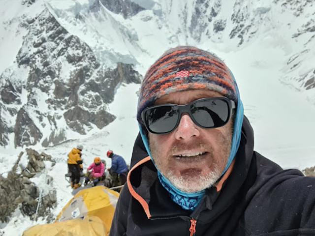 """K2. Carlos Garranzo: """"La montagna mi urla di non salire"""""""